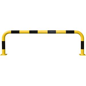 Rammschutz-Bügel, Außeneinsatz, Stahl, 60x200 cm, Ø 7,6 cm