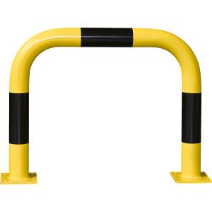 Rammschutz-Bügel, Außeneinsatz, Stahl, 60x75 cm, Ø 7,6 cm