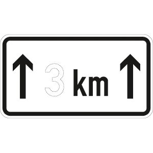VZ1001-31, auf ... km, Alu, RA2, 41,2x75 cm
