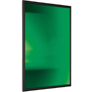 Klemmrahmen Streamline 25 DIN A4, Ecken spitz, Alu schwarz eloxiert, 29,7x21 cm